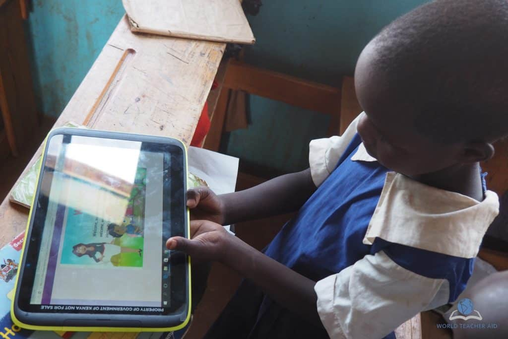 Using technology in primary school education in Kenya