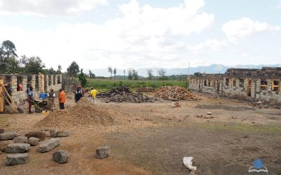 Start of School Construction at Ndatho Farm