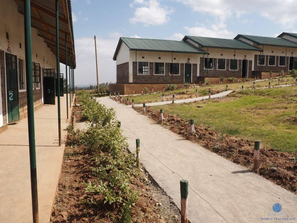 Outside Baraka Shalom Primary