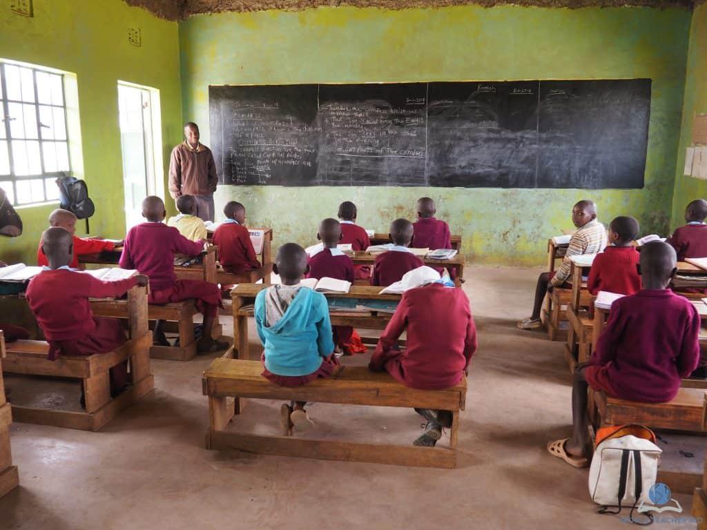 Classroom in Baraka Shalom Primary